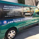 vehicule de la formation FNTI , alliance FTI 13 Permis Taxi , location de vehicule équipé Taxi, formation continue taxi , formation à la mobilité